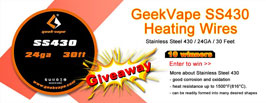 Authentic GeekVape SS430 Heating Wires - 3FVAPE