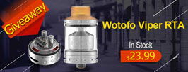 Authentic Wotofo Viper RTA - 3FAPE