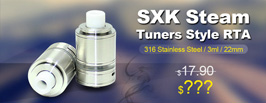 SXK Steam Tuners Style RTA - 3FVAPE