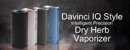 Davinci IQ Style Intelligent Precision Dry Herb Vaporizer - 3FVAPE