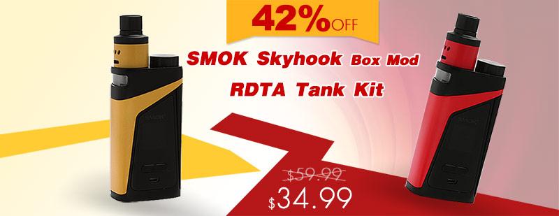SMOK Skyhook Box Mod + RDTA Tank Kit