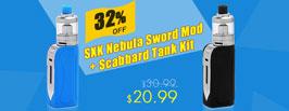 SXK Nebula Sword Mod + Scabbard Tank Kit - 3Fvape