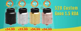 528 Custom Goon 1.5 RDA - 3FVape