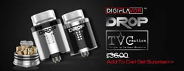 Authentic Digiflavor DROP RDA - 3FVAPE