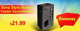 Xena Style Bottom Feeder Squonker Mechanical Box Mod Giveaway - 3FVAPE