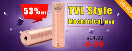 TVL Style Mechanical Mod - 3FVAPE