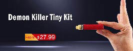 "Demon Killer Tiny 800mAh Mod + RDA Kit- 3FVAPE""width="