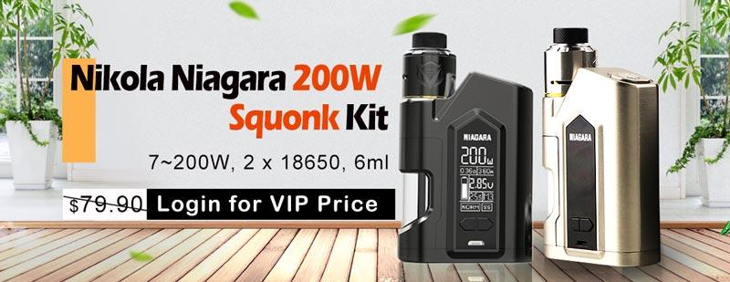 Nikola Niagara 200W Squonk Box Mod Kit