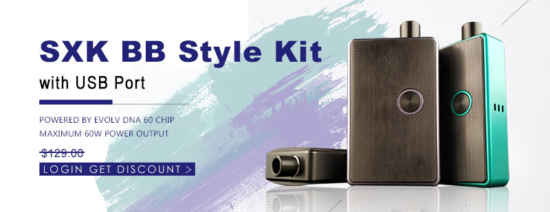 SXK BB Style Kit with USB Port - 3FVAPE