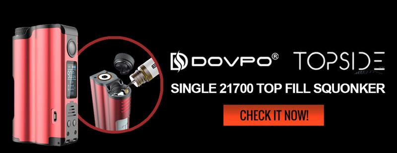 Dovpo Topside 90W Squonk Box Mod - 3FVAPE