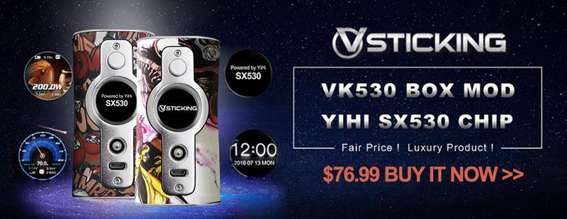 Vsticking VK530 200W Box Mod - 3FAPE