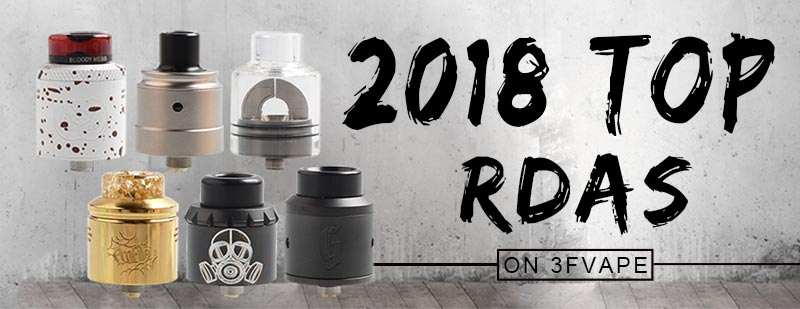2018 Top RDA on 3FVAPE.com