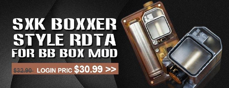 SXK Boxxer Style RDTA