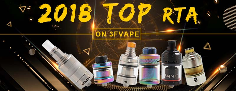 2018 Top RTA on 3FVAPE.com