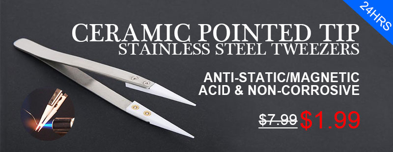 Ceramic Pointed Tip Tweezers