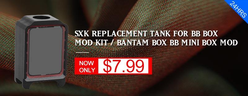 SXK Replacement Tank - 3FVape