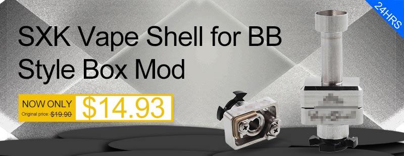 SXK Vape Shell for BB Style Box Mod - 3FVape