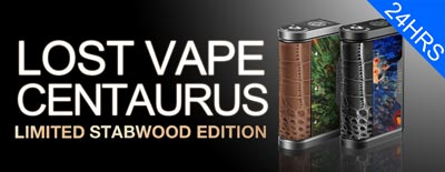 Lost Vape Centaurus DNA250C Stabwood Version Box Mod