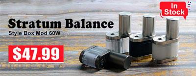 Stratum Balance style box mod