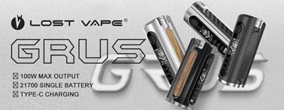 Lost Vape Grus 100W Box Mod