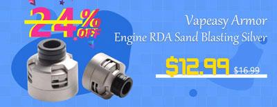 Vapeasy-Armor-Engine-RDA-Sand-Blasting-Silver