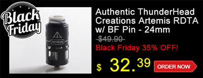 Authentic ThunderHead Creations Artemis RDTA w/ BF Pin - 24mm