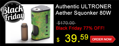 ULTRONER Aether Squonker 80W Black Friday Special Sale