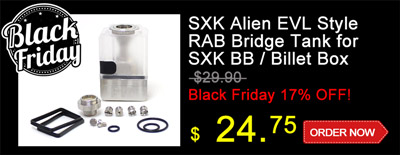 SXK Alien EVL Style RAB Bridge Tank for SXK BB / Billet Box