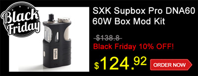 SXK Supbox Pro DNA60 Box Mod Kit