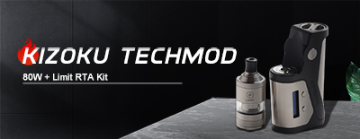 Kizoku Techmod 80W + Limit RTA Kit