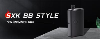 SXK BB Style 70W Box Mod w/ USB