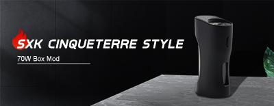 SXK CinqueTerre Style 70W Box Mod