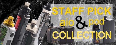 Staff Pick Aio & Pod System