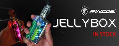 Rincoe Jellybox Mini 80W Box Mod In Stock
