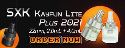 SXK KF Lite Kayfun Lite Plus 2021 RTA 22mm