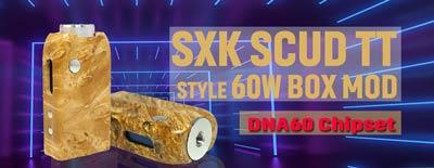 SXK Scud TT Style DNA60 60W Box Mod