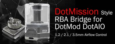ULTON DotMission Style RBA Bridge for DotMod DotAIO - 3FVAPE