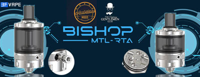 Bishop MTL RTA by Ambtiion Mods and The Vaping Gentlemen Club