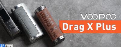 Voopoo Drag X Plus 100W Mod