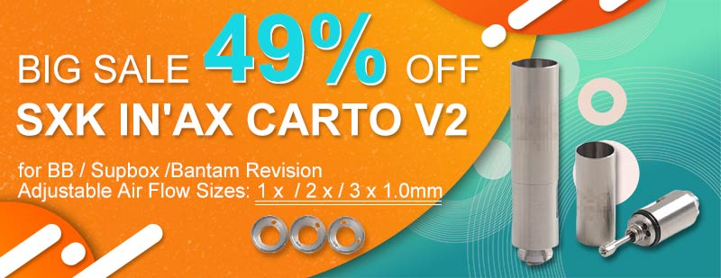 SXK In'Ax Carto V2 49% OFF