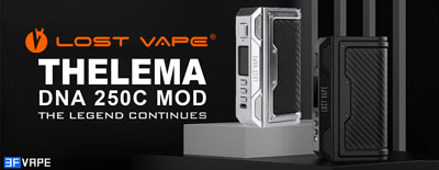 Lost Vape Thelema DNA250C 200W VW TC Box Mod