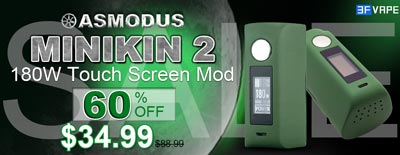 Army Green asMODus Minikin 2 180W Touch Screen Mod Sale