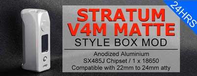 Stratum V4M Matte Style 100W VW Box Mod YiHi SX485J Chip