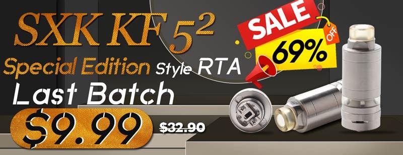 SXK KF 52 kayfun 5 Square SE Style RTA 69% OFF Sale