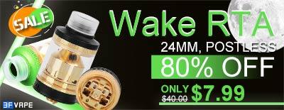 Wake RTA 80% OFF Sale