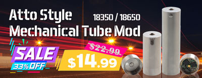 Atto Style Mechanical Tube Mod Sale