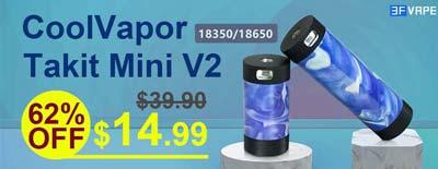 CoolVapor Takit Mini V2 Sale