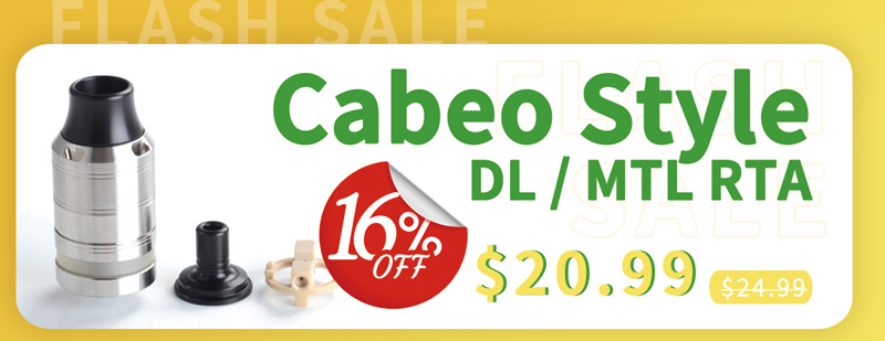 Cabeo Style DL MTL RTA Flash Sale