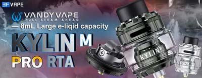 Vandy Vape Kylin M Pro RTA 8mL Capacity