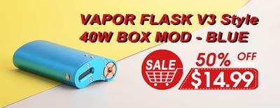 Vapor Flask V3 Style Mod Blue